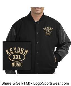 Keyohm Music Varsity Jacket Design Zoom